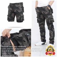 celana cargo pria army celana panjang/celana pendek Sleting