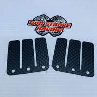 Set Membran Satria Lidah Carbon Racing Sepasang Karbon