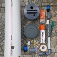 DIY bahan filter aquarium canister pipa tabung external aquarium