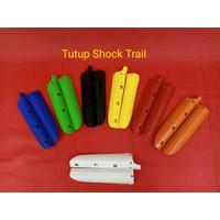 Tutup Shock Depan Trail - Putih