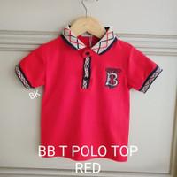 MILANBERRY BUR BERRY T POLO TOP kaos anak laki kerah branded merk TOP