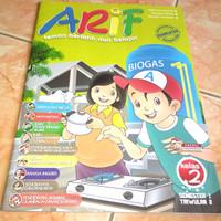 buku pelajaran Arif energi Indonesia untuk SD kelas 2