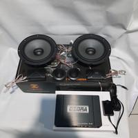 paket audio mobil speaker dan processor