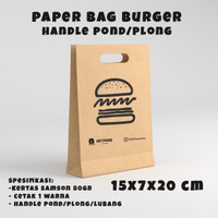 Tas Kertas/Paper bag Burger