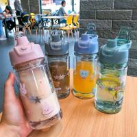 botol minuman air water gliter thermos olah raga anak sekolah - 016
