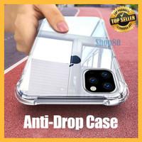 Case Anti Crack iPhone X XS Max XR 6 7 8 Plus Soft Casing Bening Shock