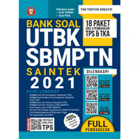 BUKU BANK SOAL UTBK SBMPTN SAINTEK 2021