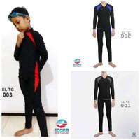 Baju renang anak laki-laki usia SD model diving panjang EDORA SPORT