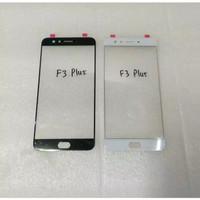 Kaca LCD TOUCHSCREEN Oppo F3 Plus F3+ Kaca Depan LCD - Putih