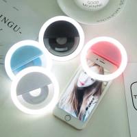 Selfie Ring Light / Universal Ring Light / Ring Light Jepit Di Hp