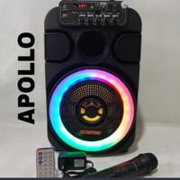 Speaker Aktif Asatron 8 inch Apollo Bluetooth