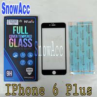 Hikaru Tempered Glass iPhone 6 / 7 / 8 Plus Anti Gores Kaca Full Cover