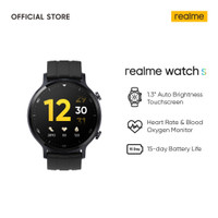 Realme Watch S [Real-time Heart Rate & Blood Oxygen Monitor]