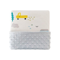 Cottonseeds Baby Blanket City Cars
