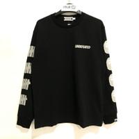 Bape x Undefeated Long Sleeve T-shirt 2 Black 100% Original