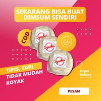 Depot Kuliner Kulit Dimsum Siomay Gyoza Pangsit - Bulat 250 gr