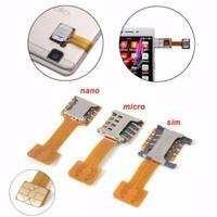 Adapter converter dual simcard sim card Hybrid nano micro sd card