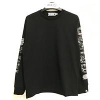 Bape x Undefeated Long Sleeve T-shirt 1 Black 100% Original