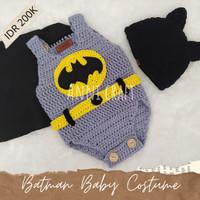 Baju kostum Rajut bayi Batman