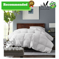 BED COVER SET 160X200 KATUN by Marvelo - Putih