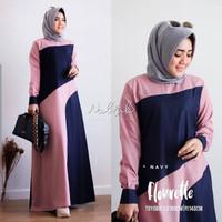 Baju Gamis Wanita Muslim Dress Rmaja Dewasa Kekinian Terbaru Murah