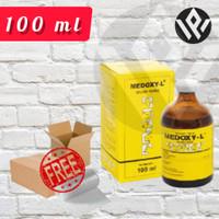 MEDOXY L Volume 100 ml Obat Antibiotik Anjing Kucing Sapi