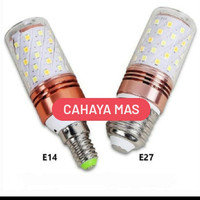 LAMPU LED (E14) 12 WATT JAGUNG/CORN BLUB 3IN1 3 WARNA 12 W 12W E27-E14