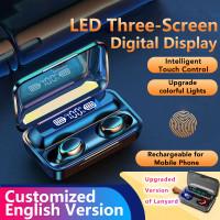 SIRCLO F9 TWS Bluetooth Wireless Earphone Headset Led Screen ORIGINAL