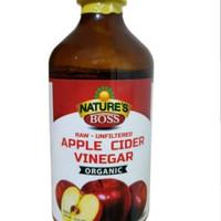 Nature's Boss Apple Cider vinegar (Cuka Apel) Organic