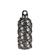 Botol Minum 600ml Eiger Campers Paracord- Botol Air Alumunium