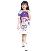 Dress Baju Santai Tidur Anak Perempuan Cewek Import Lucu Umur 2-13 Th