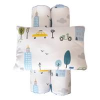 Cottonseeds Pillow Bolster Set City Cars