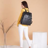Tas wanita cewek ransel selempang slingbag kulit muat laptop bag kerja