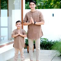 couple koko kurta ayah dan anak / baju muslim / baju Koko