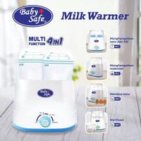 Baby Safe Twin Bottle Warmer & Sterilizer - Penghangat Susu Bayi LB216