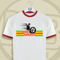 Kaos/Baju/T-shirt Sepeda BMX Bandits 80s 90s