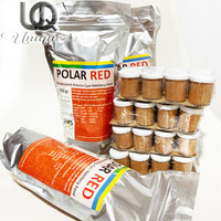 POLARED POLAR RED Artemia Instant Shell tanpa cangkang Repack 10gr
