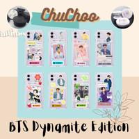 ChuChoo DIY Case BTS Dynamite Free Pop Socket Hard Anticrack