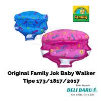 Jok baby walker family ORI type 173 1817 2017 Pink