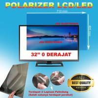 polarizer lcd 32 inch polaris 32 inch bagian luar polarized lcd 32 in
