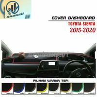 Cover Dashboard Mobil Sienta Pelindung Dasbor Aksesoris Mobil - Krem