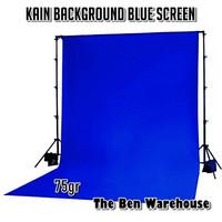 Kain Background Blue Screen / Kain Spunbond Biru 75gr