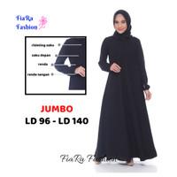 Baju Umroh - Baju Haji Putih dan Hitam S - 5XL - Hitam, S