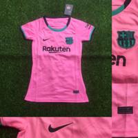 Jersey Baju Bola Cewek Ladies Barccaaa 3rd Pink 2020/2021 Grade Ori