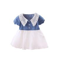 Denim Lace Dress / Terusan Bayi