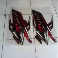 striping stiker Polet RX-King 2008 merah