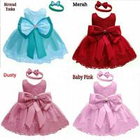dress anak 1-4 th/dress princess/baju pesta anak/ulang tahun/kondangan