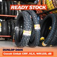 DUNLOP D 605 D605 300-21 4.60-18 Ban Trail Cross KLX CRF 250