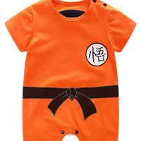 Dragon ball baby romper goku baby costume kostum bayi dragon ball shor