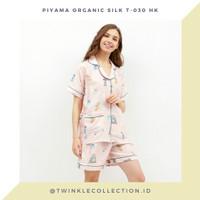 Baju Tidur Piyama Organic Silk GREET T-030 HK - Green